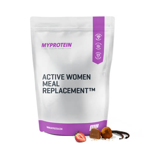 Active women meal replacement protein powder