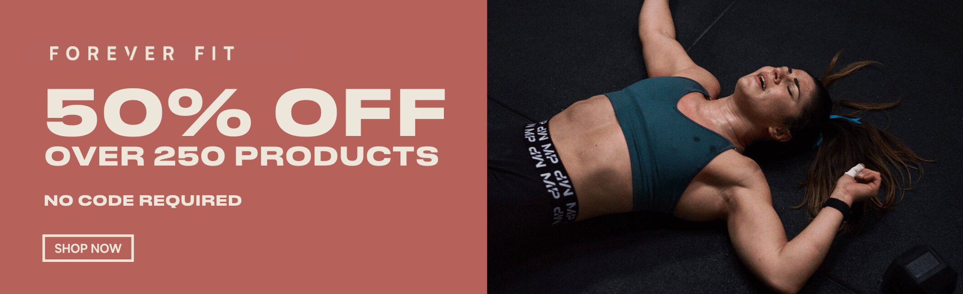 50% off selected products