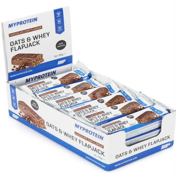 best value protein bar - oats & whey flapjack