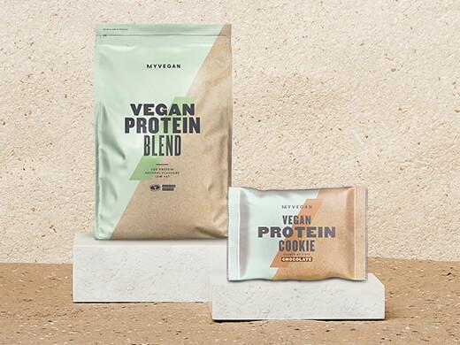 Proteína Vegana y Galleta de Proteínas Vegana