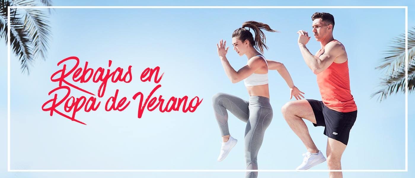Modelos fitness con ropa deportiva de myprotein
