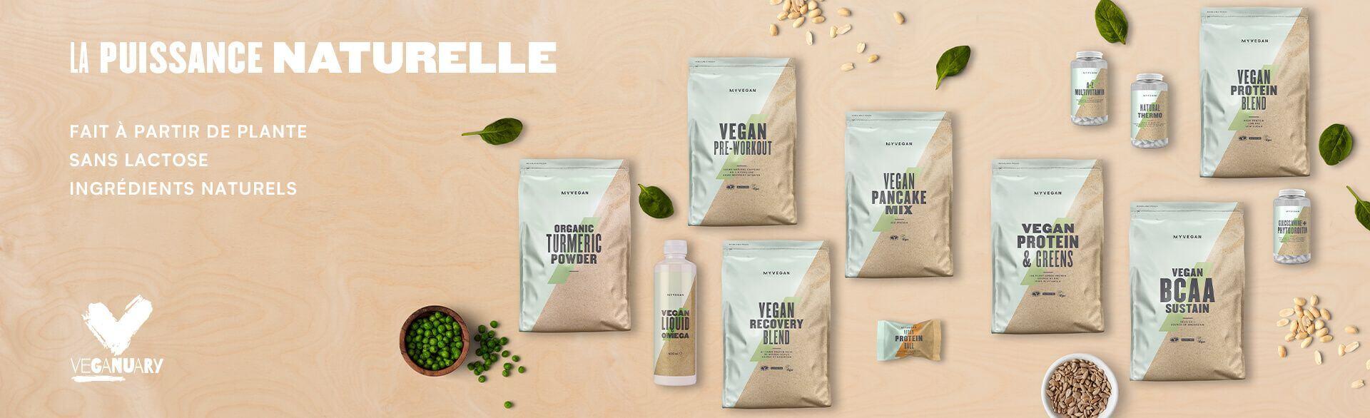 Vegan la puissance Naturelle
