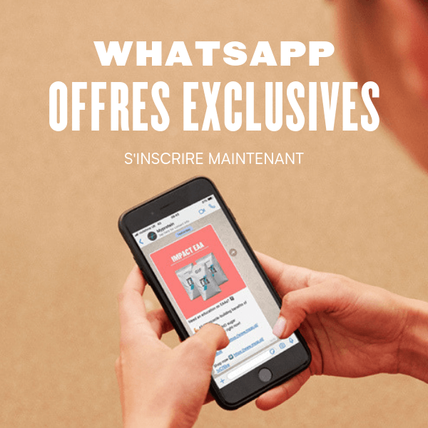 Whatsapp offres exclus