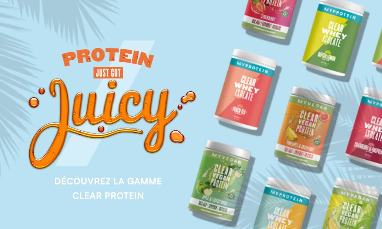 Nouvelles Clear Protein