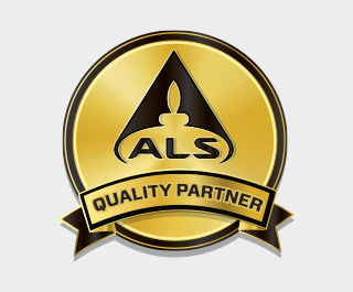 ALS kvaliteta partner logotip za certificirane myprotein proizvoda