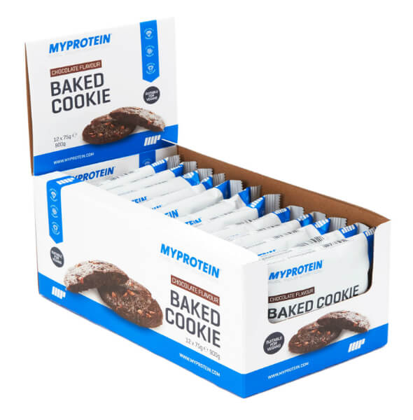 Baked cookie - best vegan protein bar