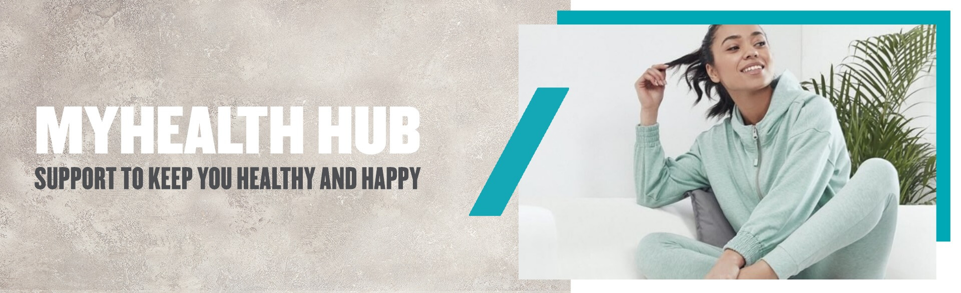 Health hub - stay happy at home