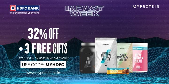 Myprotein x HDFC Bank