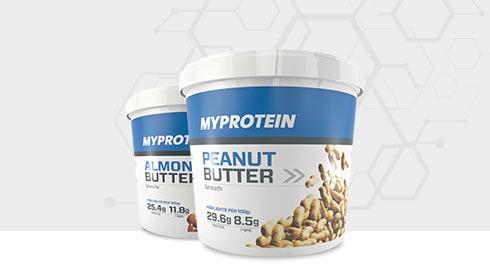 Scegli il tuo Burro Proteico preferito Gratis