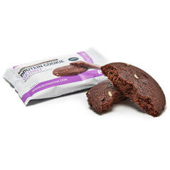 flapjacksとタンパク質クッキーのためのサンプルを含むマイプロテインサンプル範囲のショーケースの写真、