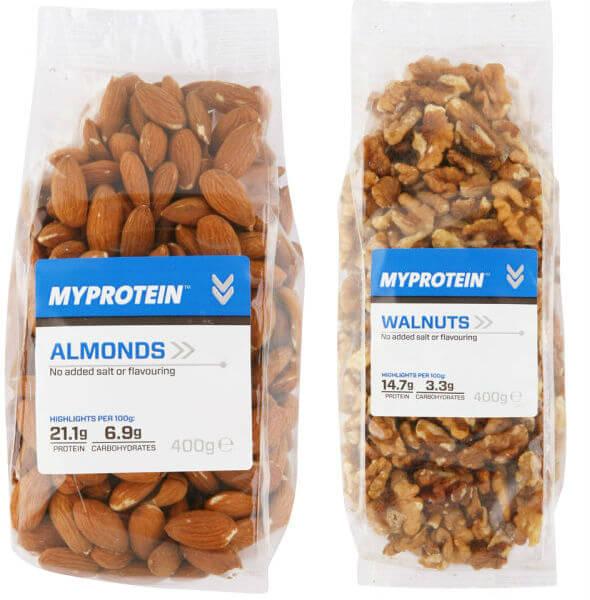 Natural nuts- best vegan snacks