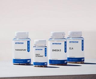 pillerit ja aminot 40% alennuksella
