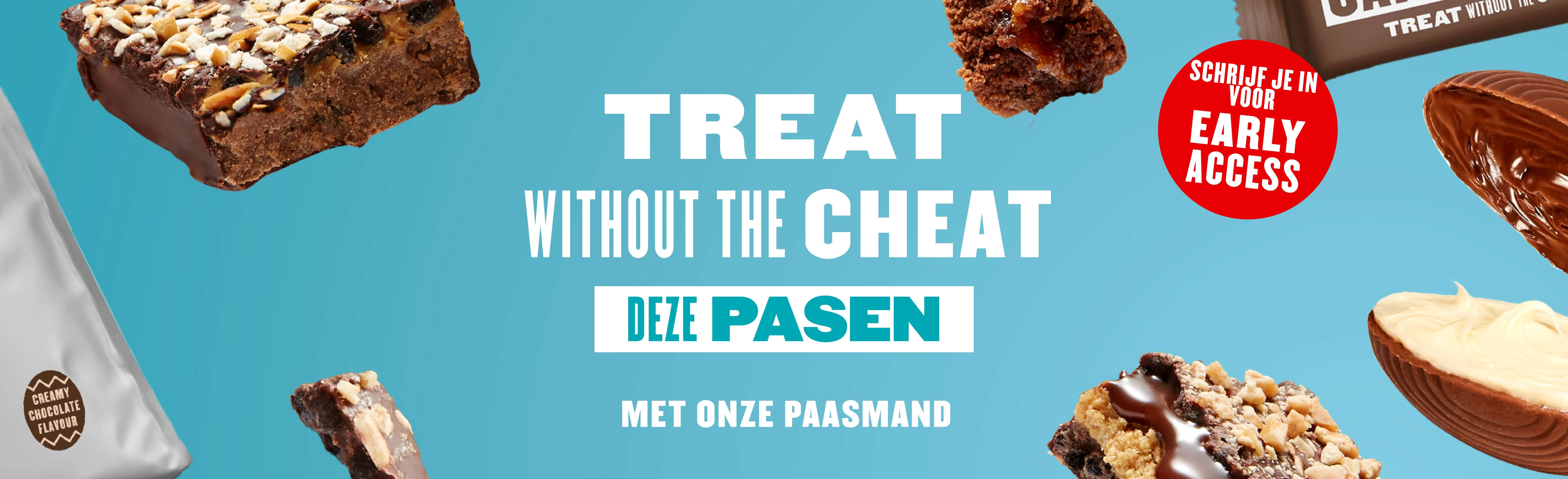 Treat without the Cheat deze Pasen met onze Paasmand
