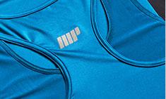 blauw myprotein sportprestaties vest