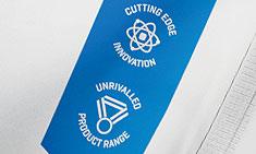 cutting edge innovatie en ongeëvenaarde assortiment kwaliteitslabels