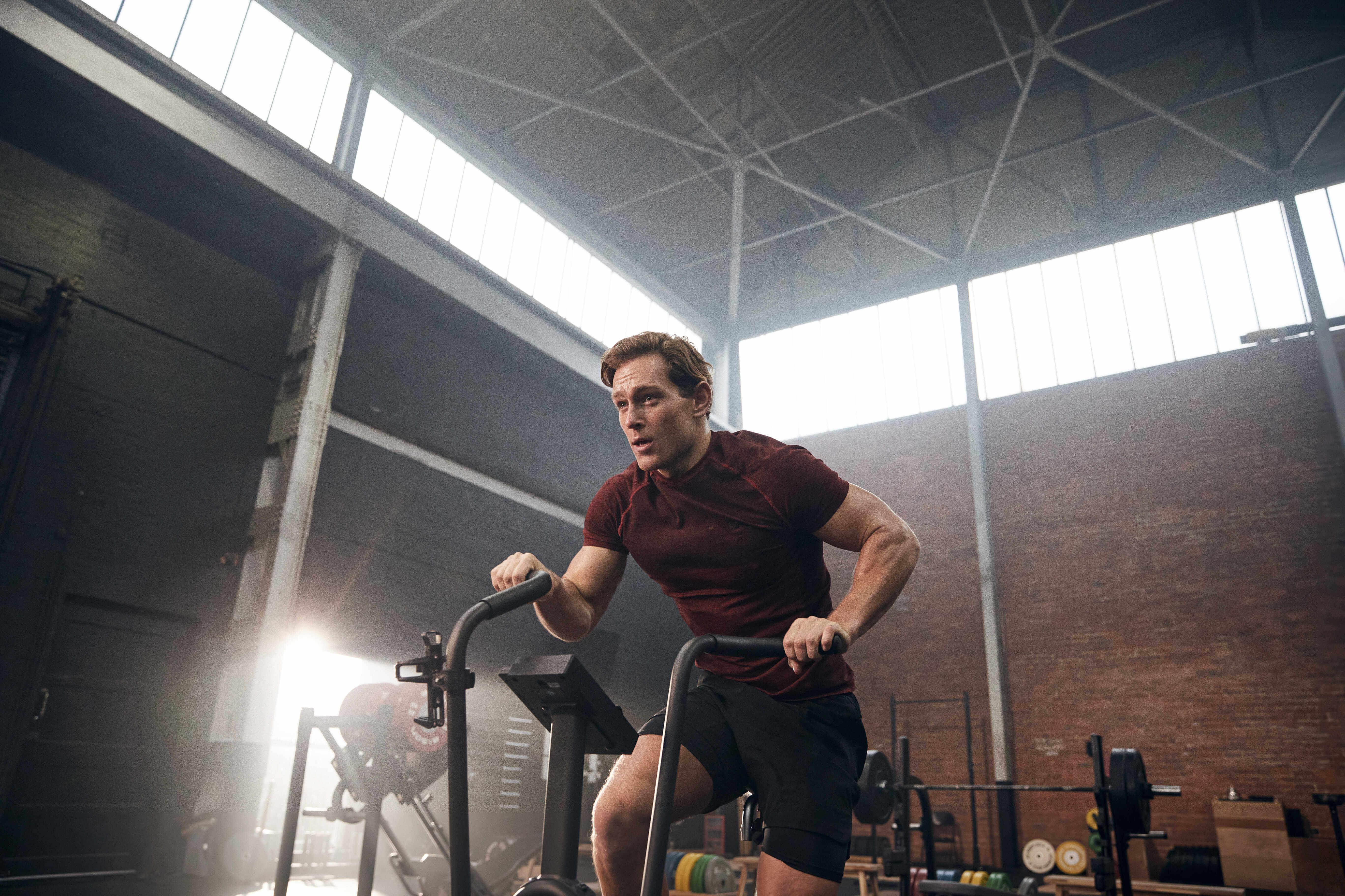 Volte à Tua rotina de exercícios