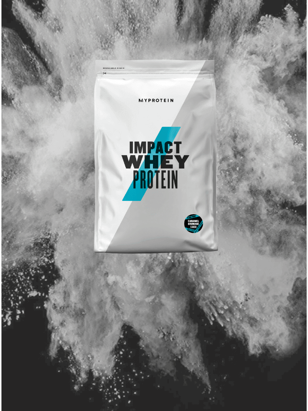 Impact Whey Protein Карамельный брауни