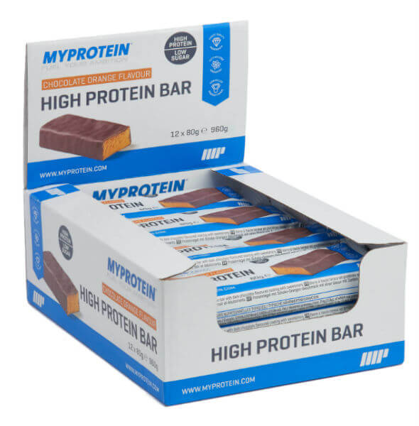 high protein bar - best low fat protein bar
