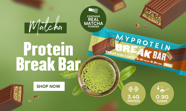 Protein Matcha Break Bar
