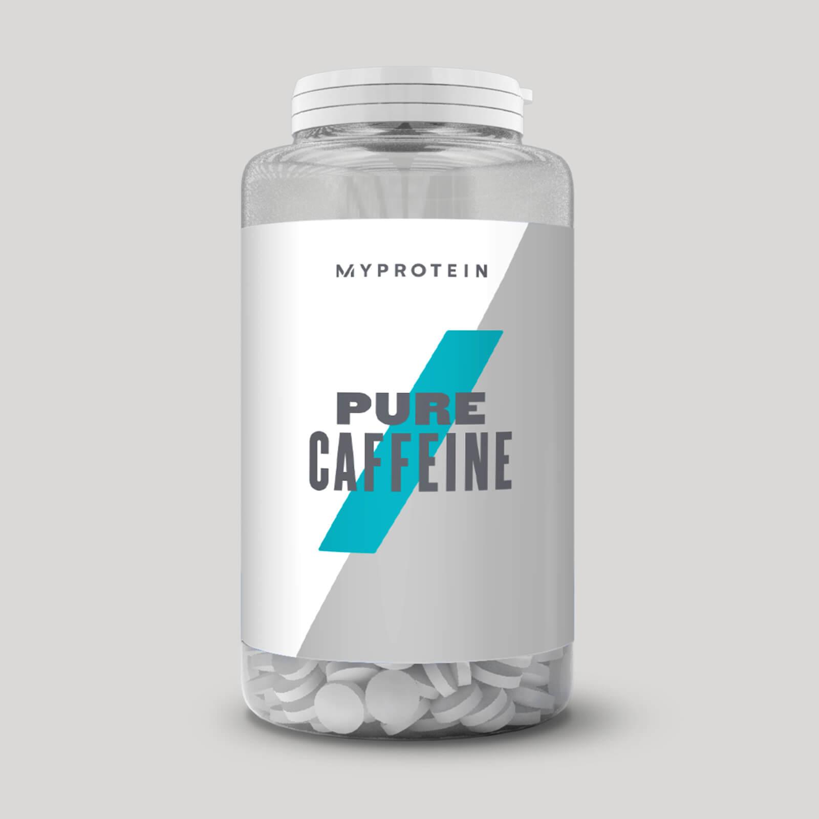 純咖啡因片