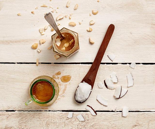 椰子油 & 糖漿