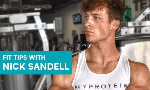 Myprotein Ambassador Nick Sandell