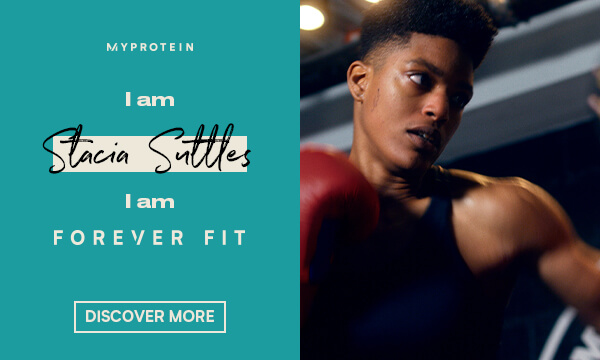 Myprotein Forever Fit. Introducing Stacia Suttles.