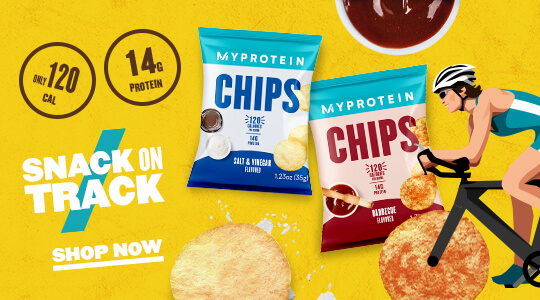 Snack on Track! Protein Chips