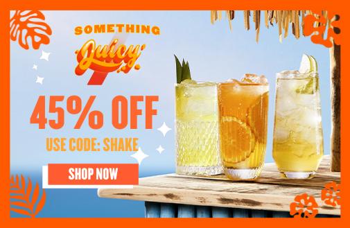 Enjoy 45% Off [Use Code: SHAKE]