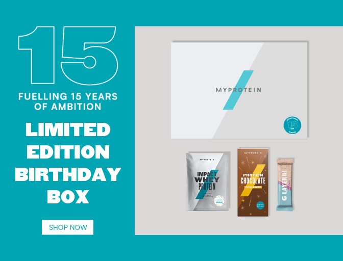 Limited edition birthday box