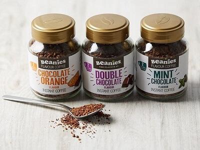 <B>Beanies低卡咖啡<br>10英镑5瓶 多种口味任意选
