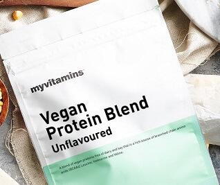 Vegane Proteinmischung