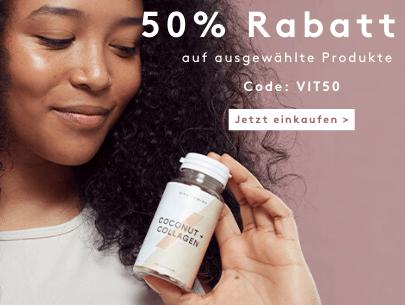 50% Rabatt auf ausgewählte Produkte
