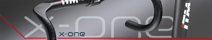 close-up image of x-one handlebars