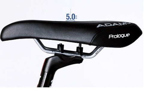 Black ISM Adamo Prologue saddle