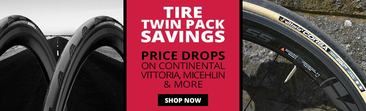 TIRE TWIN PACK SAVINGS