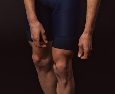 PBK Bib Shorts in blue