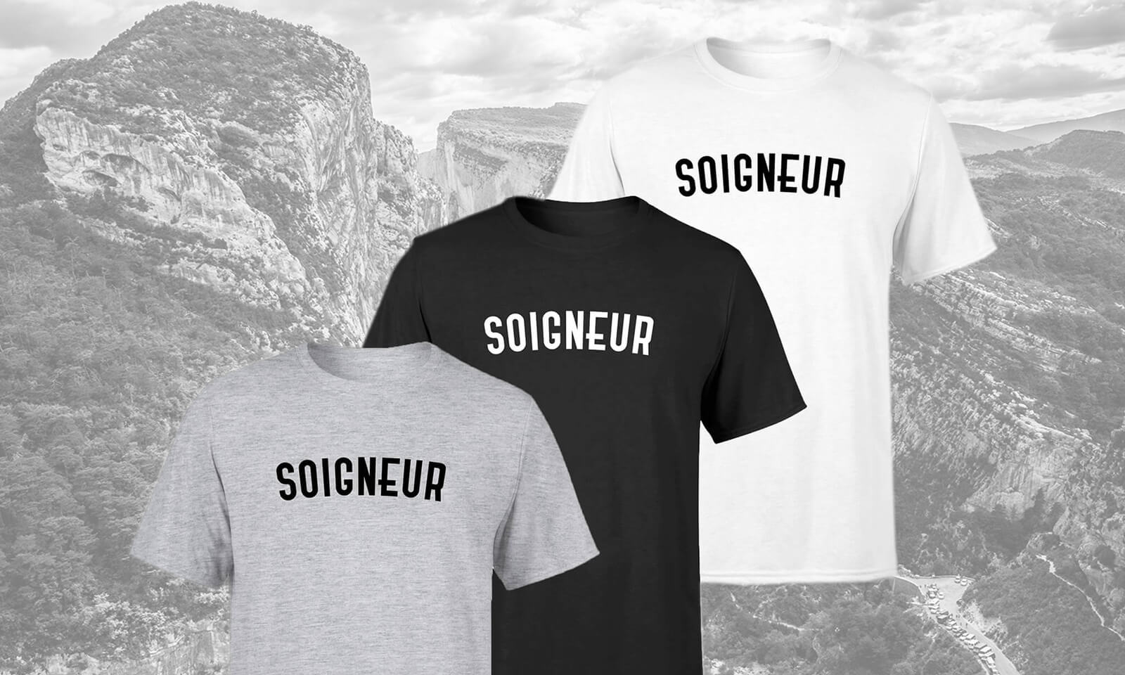 #1<br>Soigneur Men's T-Shirt