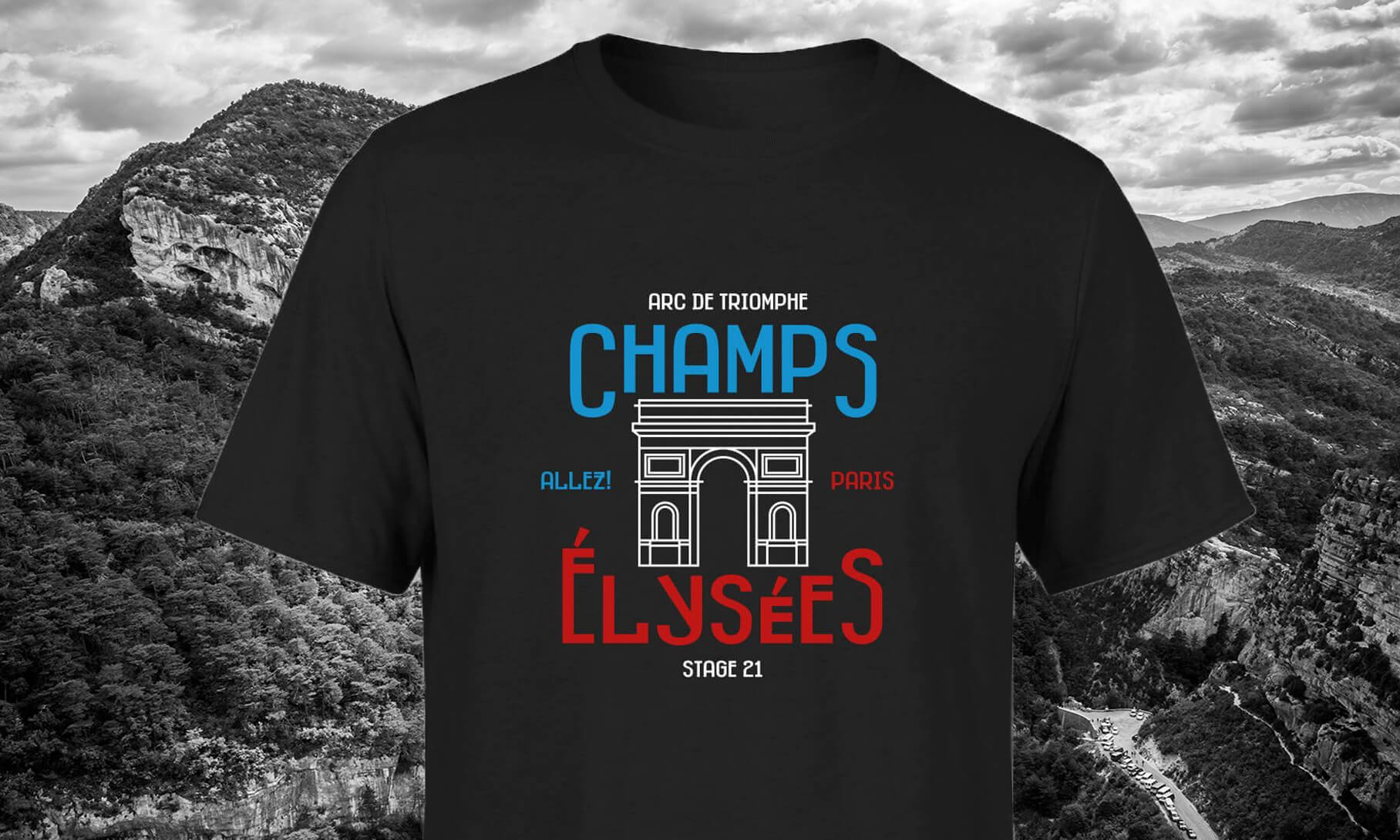 #6<br>CHAMPS ELYSEES MEN'S T-SHIRT