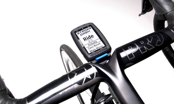 Stages Dash<br>Die intelligente GPS-Kopfeinheit
