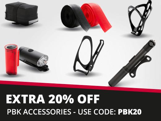 Extra 20% off PBK Accessories