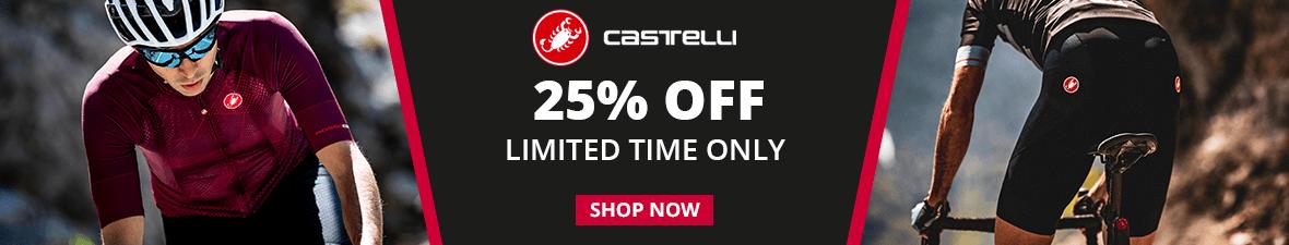 Castelli 25% Off!