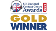 Natinal Contact Centre Gold Award}