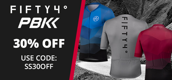 30% off PBK and 54 Degree Clothing