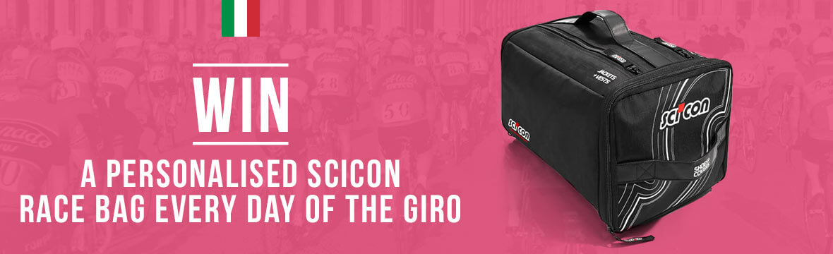 Win a Scicon Race bag every day