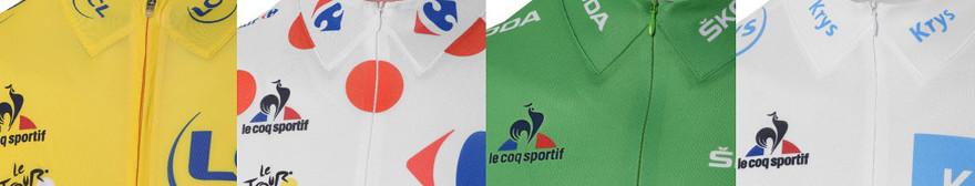 Tour de France jerseys