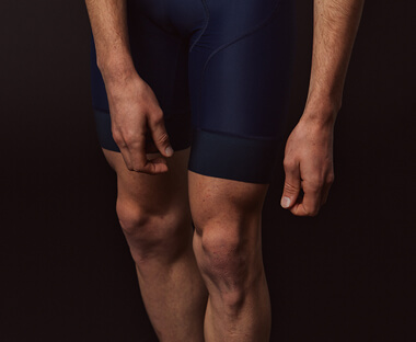 PBK Bib Shorts in blue