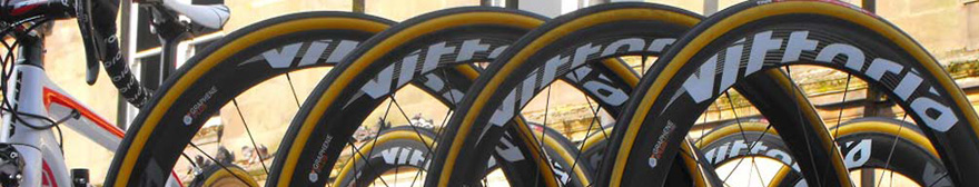 four vittoria bike tires