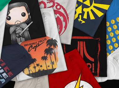 2 Geek T-Shirts für 28€