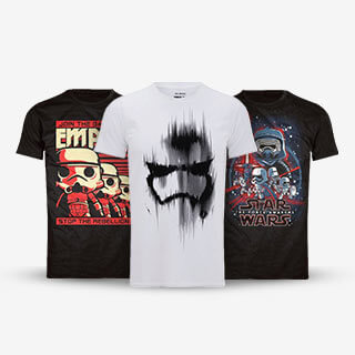 2 for £20 Star Wars T-Shirts